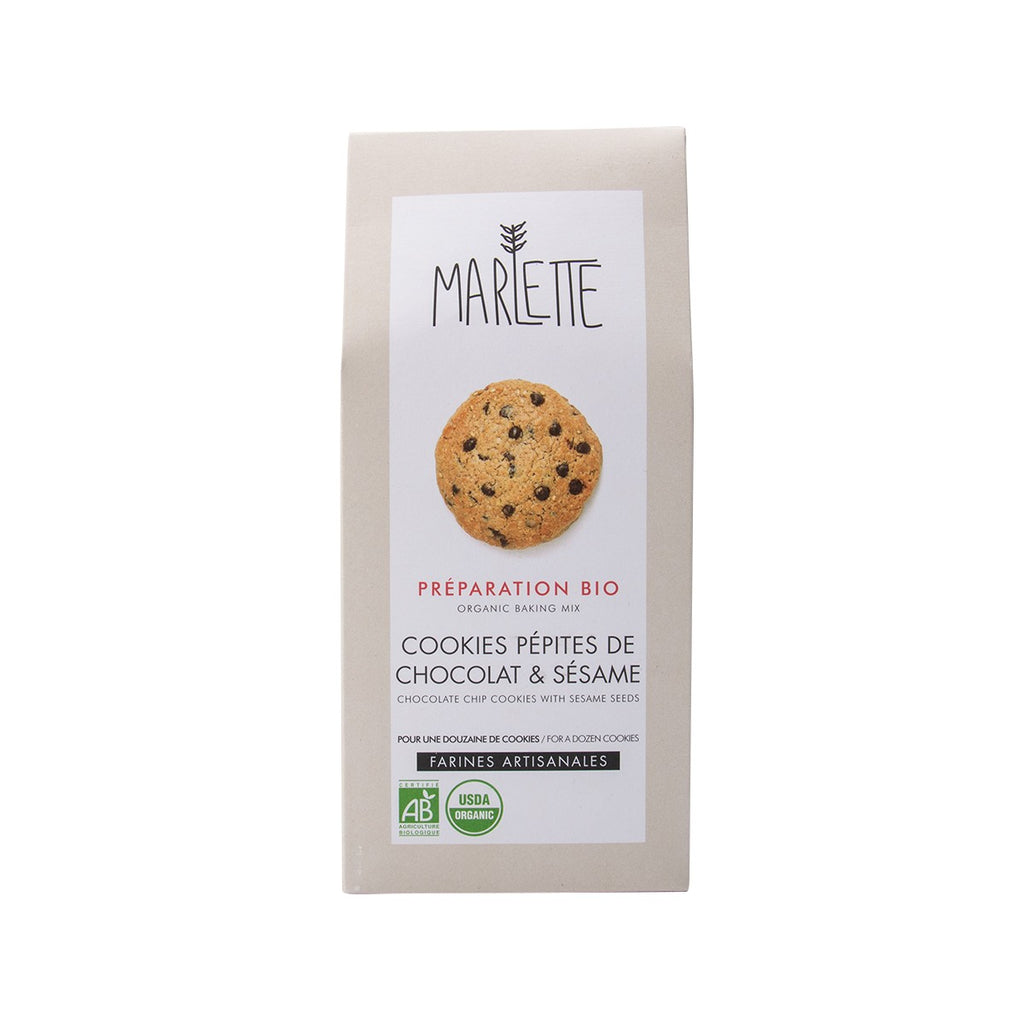 Marlette Organic Baking Mix - Chocolate Chip Cookies With Sesame Seeds(340g)