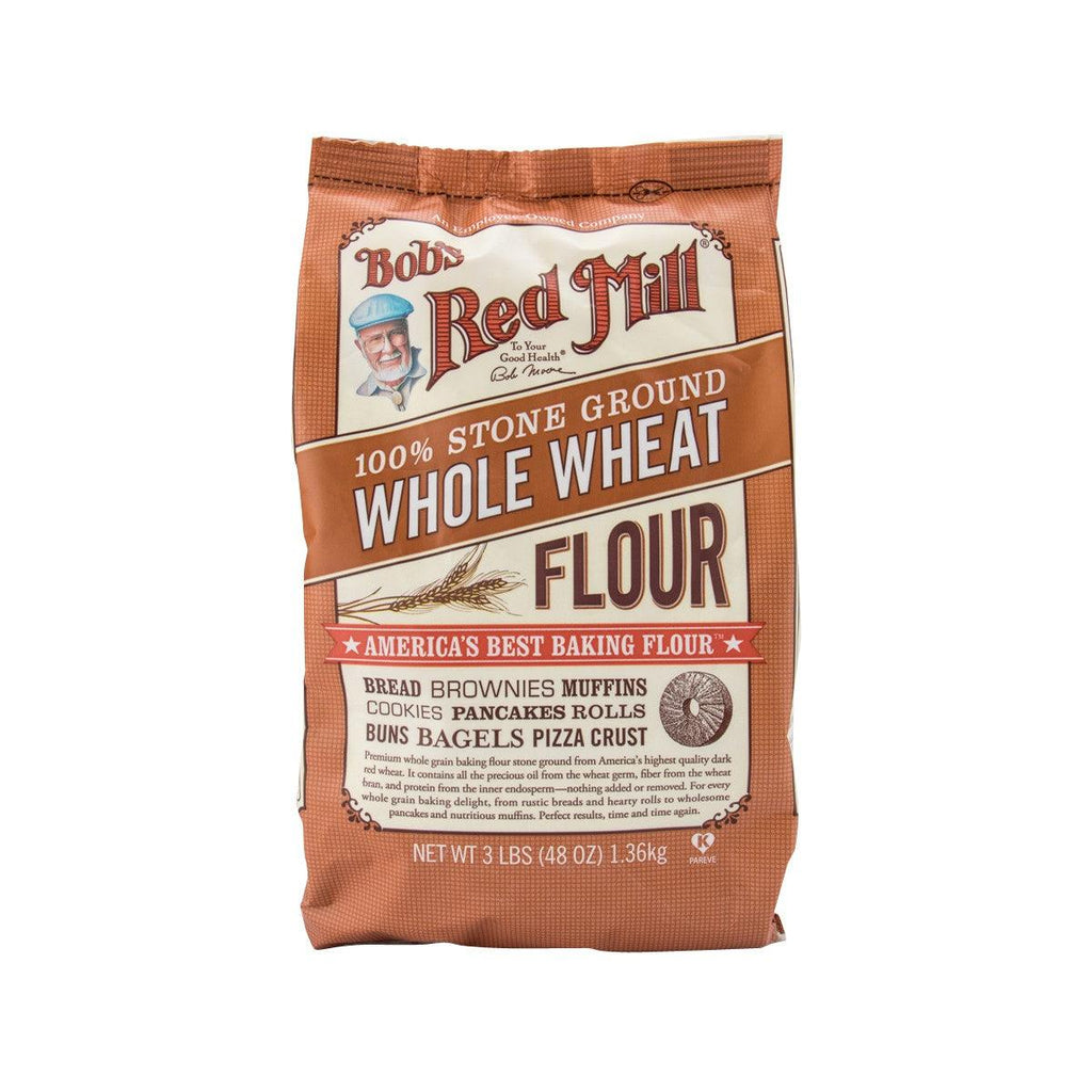 BOB'S RED MILL 100% Stone Ground Whole Wheat Flour  (1.36kg)