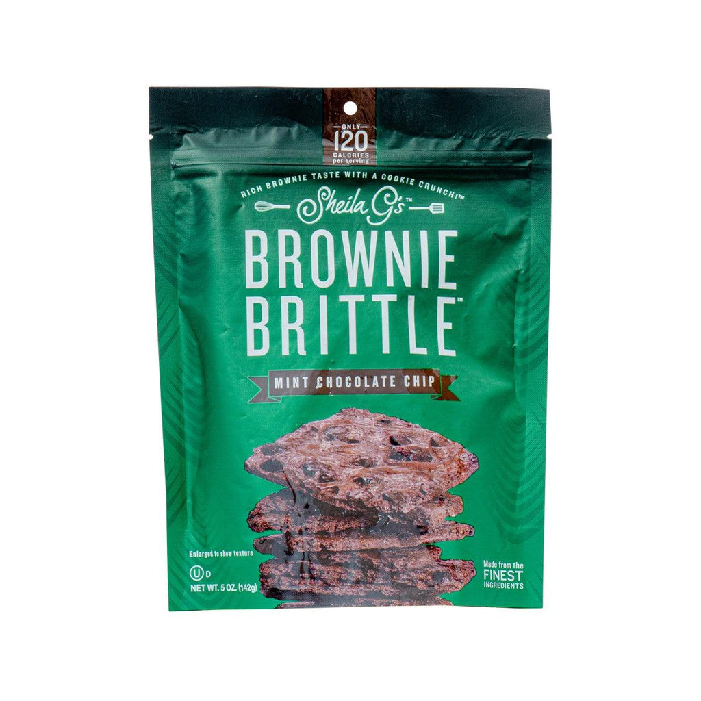 SHEILA G'S Brownie Brittle - Mint Chocolate Chip  (142g)