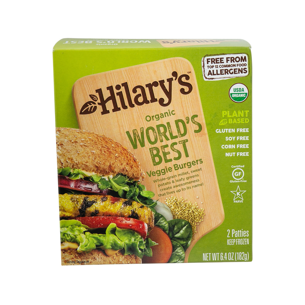 HILARY'S EAT WELL Veggie Burger  (182g)