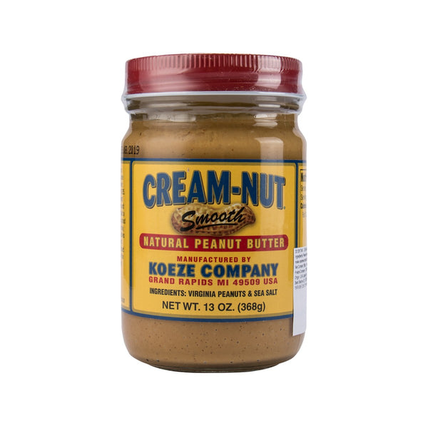 Cream-Nut Natural Peanut Butter(368g)