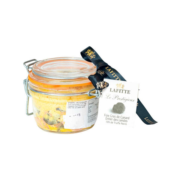 LAFITTE Whole IGP Duck Foie Gras With Truffle  (130g)