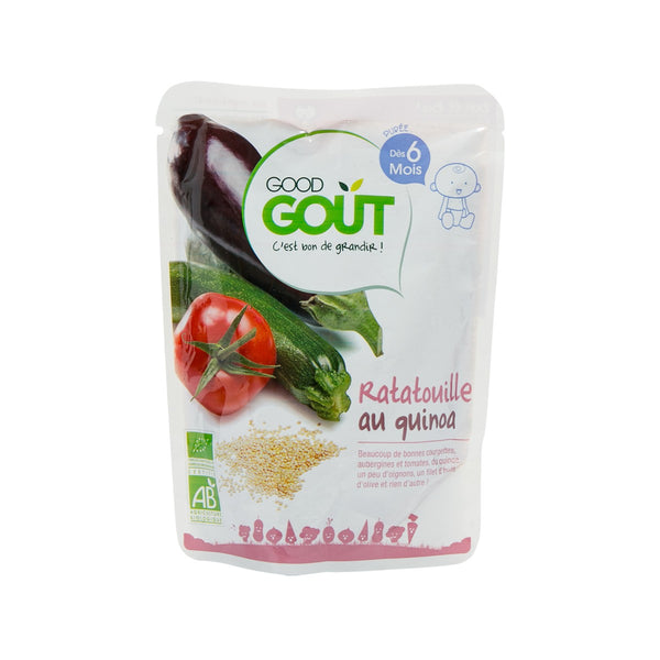 GOOD GOUT Organic Baby Food - Ratatouille With Quinoa  (190g)