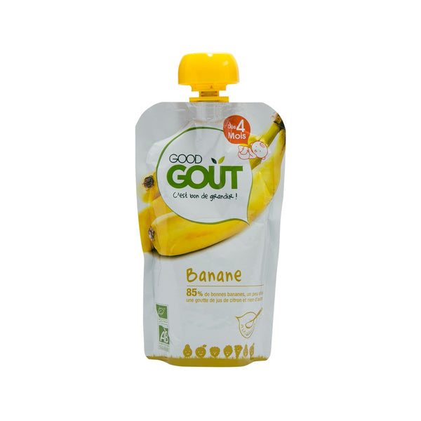 GOOD GOUT Organic Baby Food - Banana Puree  (120g)