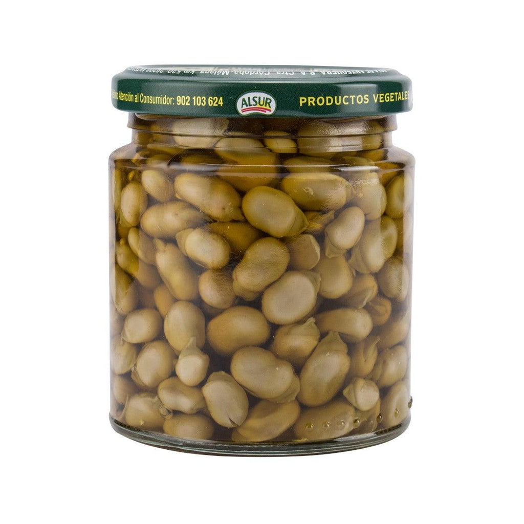 ALSUR Fried Mini-Baby Broad Beans In Olive Oil  (235g)