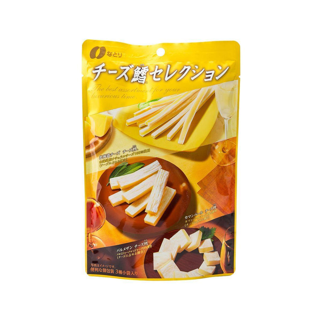 Natori Cod Fish Cheese Snack Selection(61g)