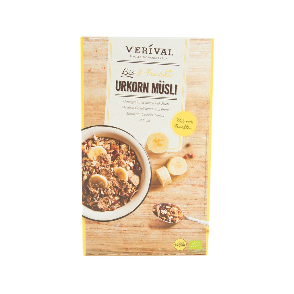 VERIVAL Organic Heritage Grains Muesli With Fruits  (325g)
