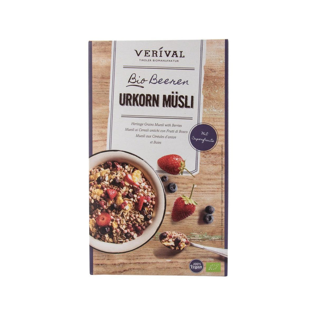 VERIVAL Organic Heritage Grains Muesli With Berries  (325g)