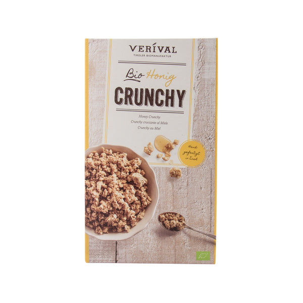 VERIVAL Organic Crunchy Honey Muesli  (375g)