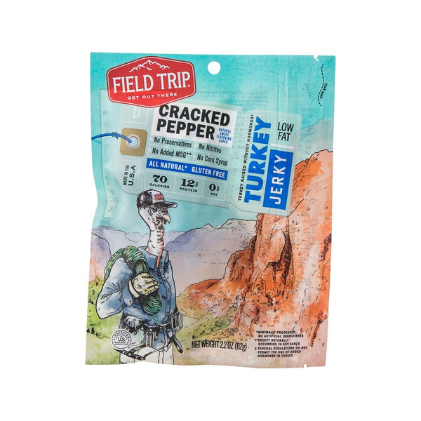 FIELD TRIP Turkey Jerky - Cracked Pepper  (2.2oz)