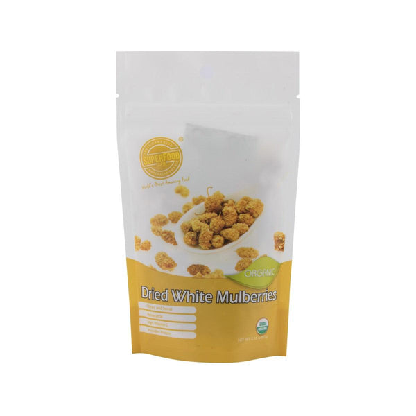 SUPERFOOD LAB Dried White Mulberries  (60g)