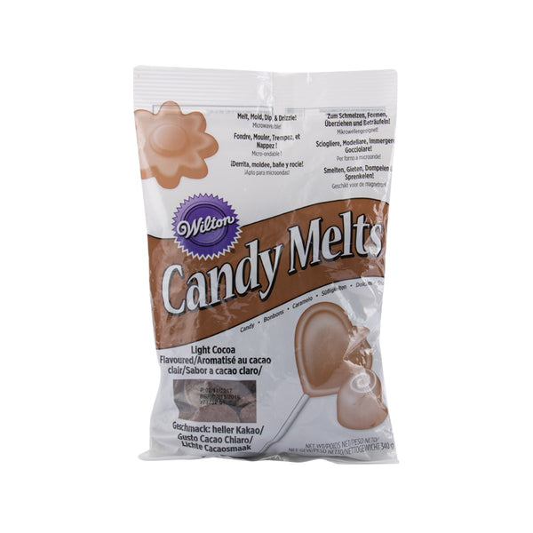 WILTON Candy Melts - Light Cocoa  (340g)
