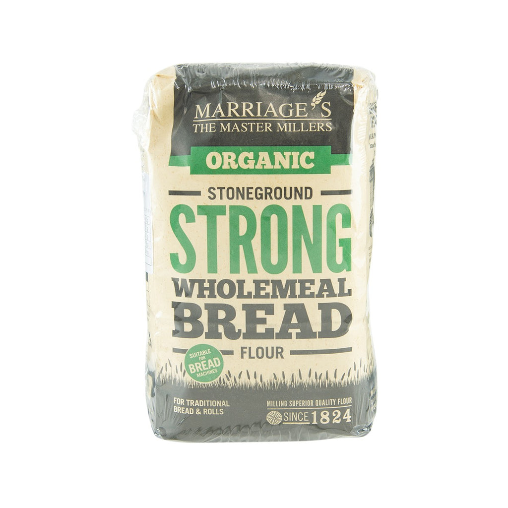 MARRIAGE Organic Strong Wholemeal Bread Flour  (1kg)
