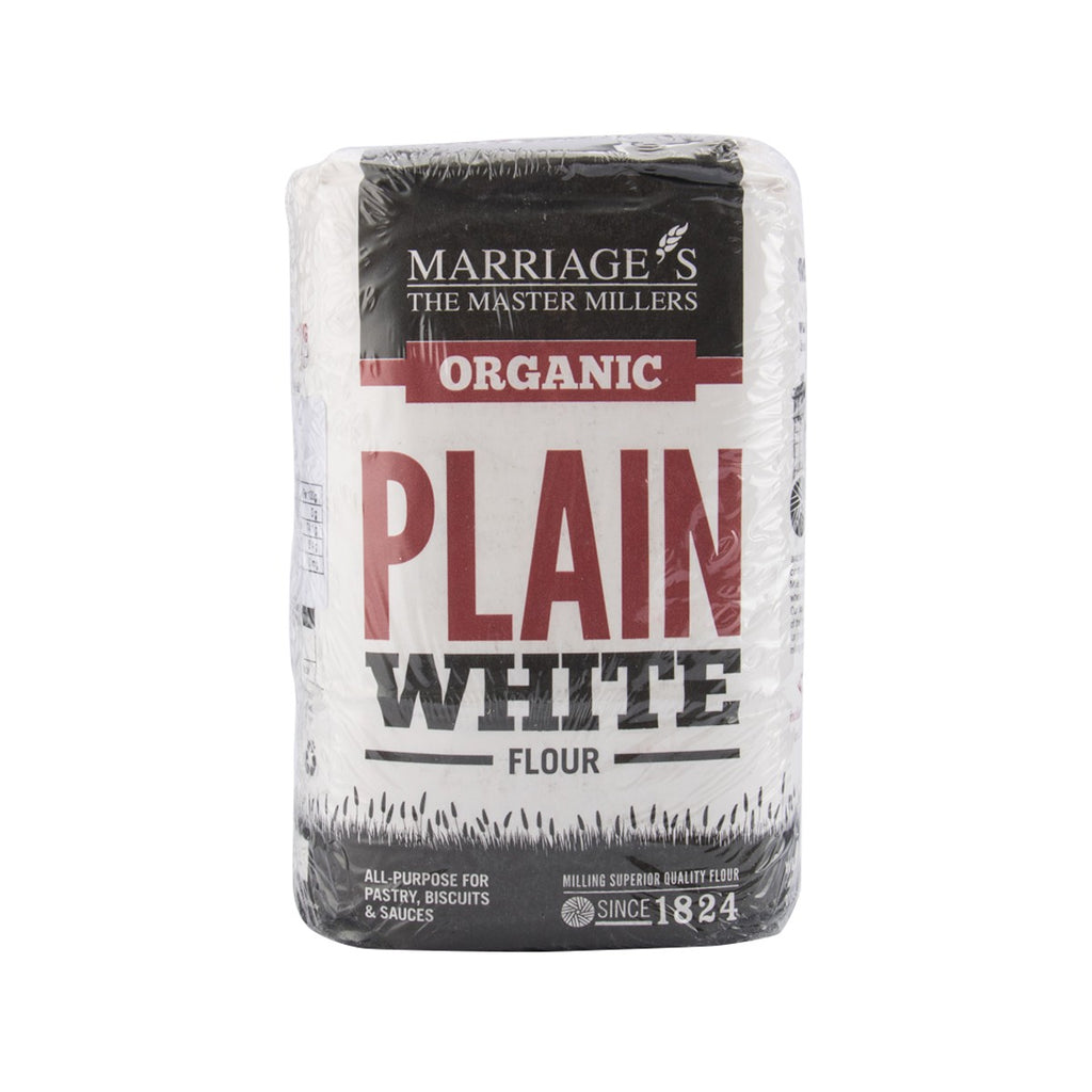 MARRIAGE Organic Plain White Flour  (1kg)