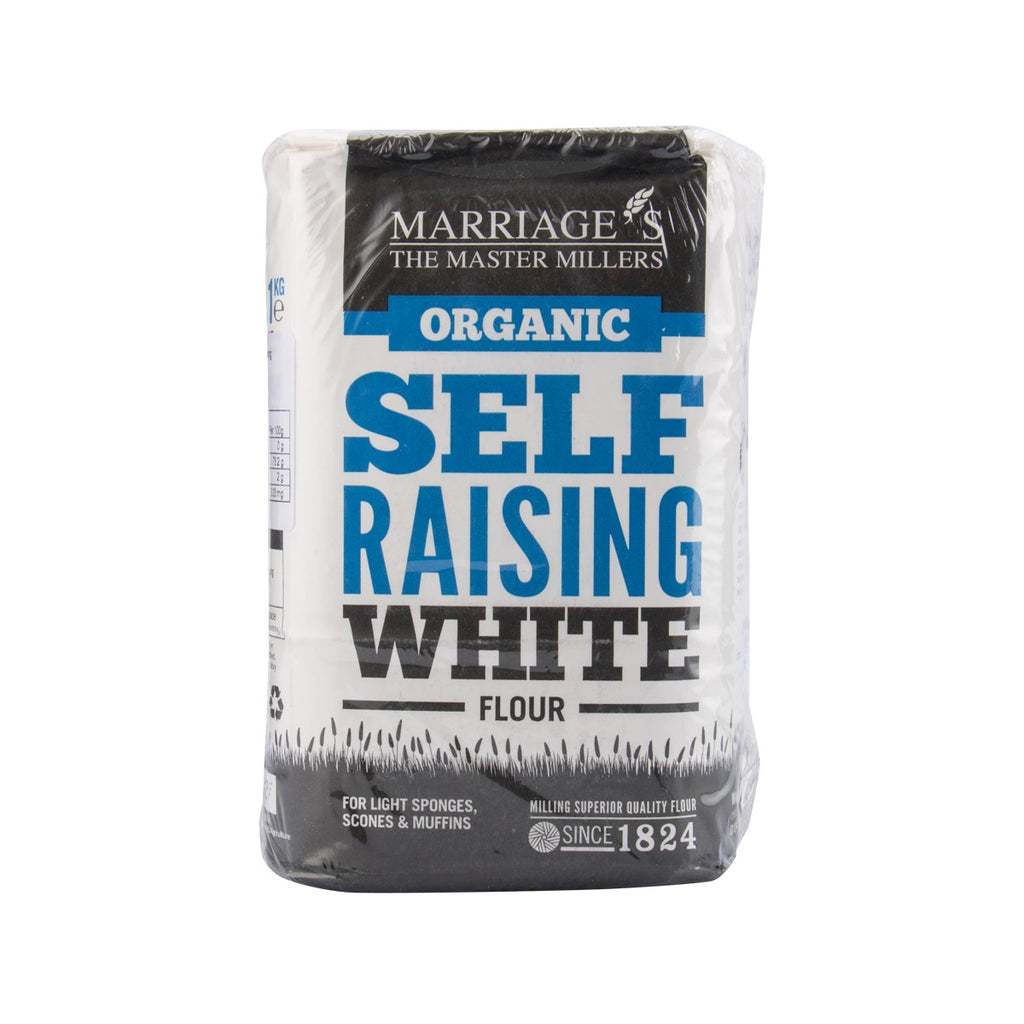 MARRIAGE Organic Self Raising White Flour  (1kg)