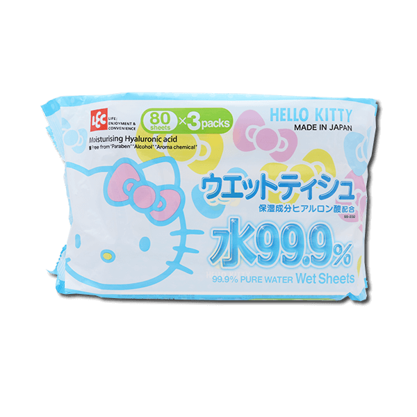 Lec Hello Kitty 99.9% Water Wet Tissue
