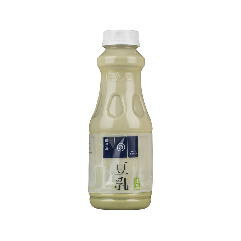 HAKATAYA Soymilk With Green Tea  (450mL)