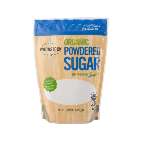 WOODSTOCK Organic Super Fine Powdered Sugar  (454g)