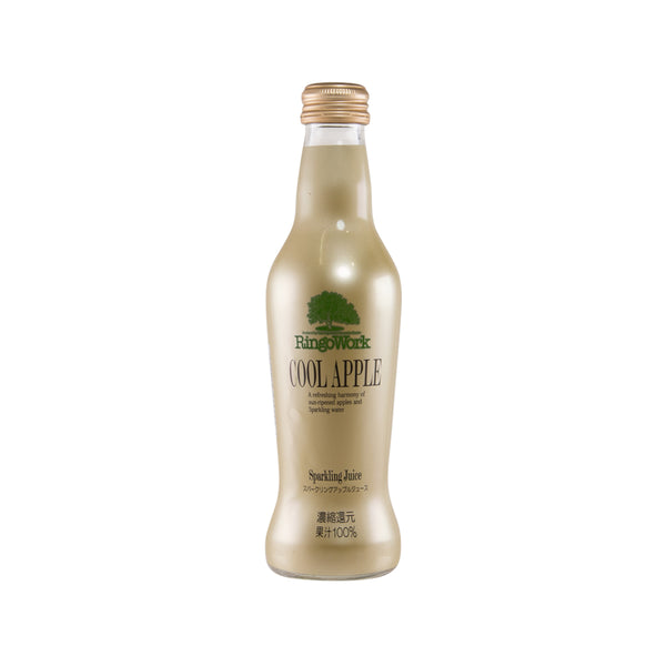 RINGOWORK Sparkling Juice - Cool Apple  (230mL)