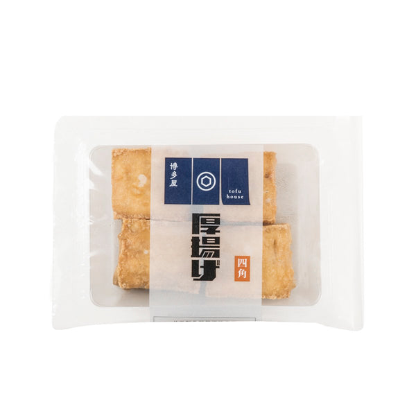 HAKATAYA Deep Fried Tofu (Cube)  (4pcs)