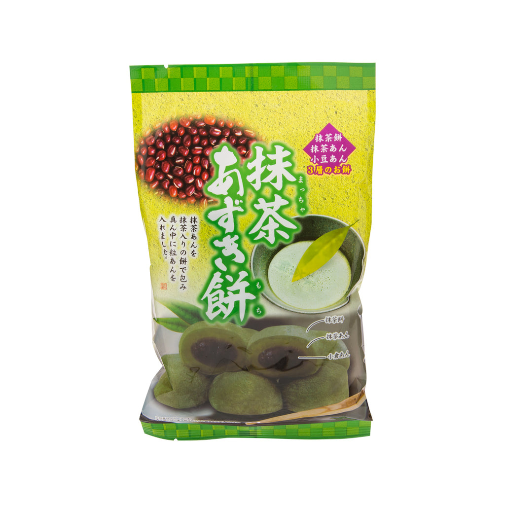 KUBOTASEIKA Matcha Red Bean Rice Cake  (10pcs)