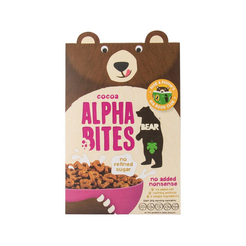 BEAR NIBBLES Alphabites Cocoa Cereal  (350g)