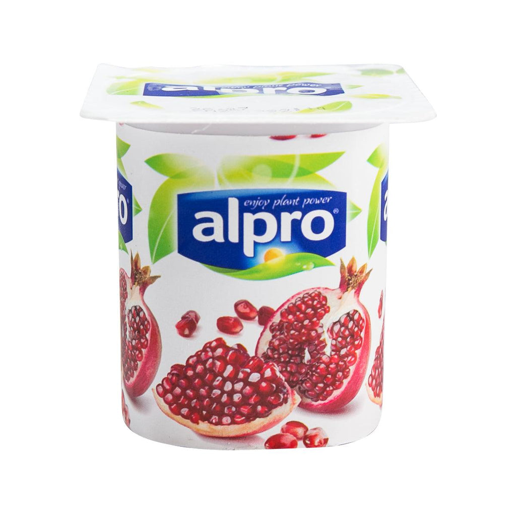 Alpro Soya Yogurt - Pomegranate(125g)