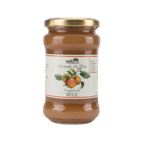 LOCANDA LA POSTA Apple Jam [No Added Sugar]  (350g)