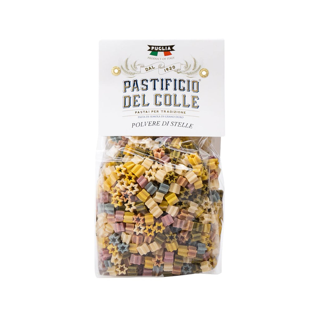 PASTIFICIO DEL COLLE Handmade Colourful Pasta - Stardust  (500g)