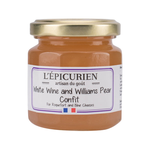 L'EPICURIEN White Wine And Williams Pear Confit  (125g)