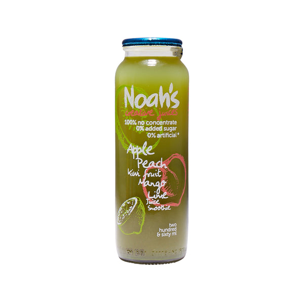 NOAH'S Apple, Peach, Kiwi Fruit, Mango, Lime Juice Smoothie  (260mL)