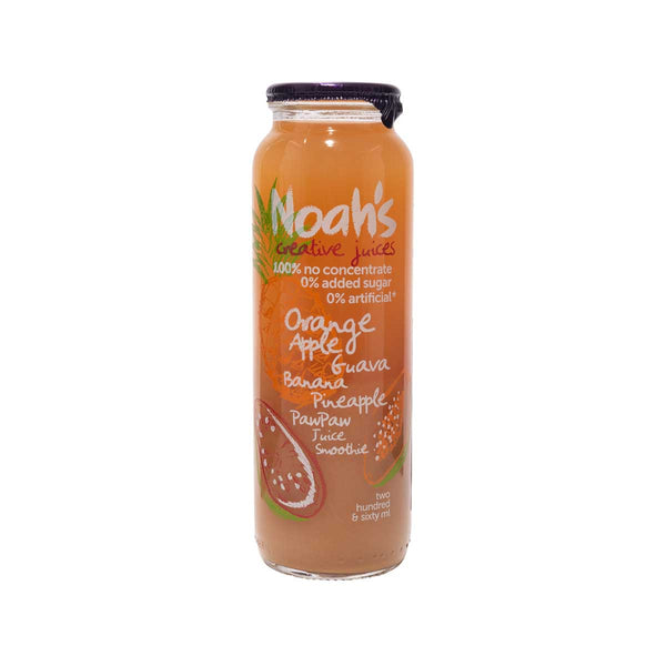 NOAH'S Orange, Apple, Guava, Banana, Pineapple, PawPaw Juice Smoothie  (260mL)