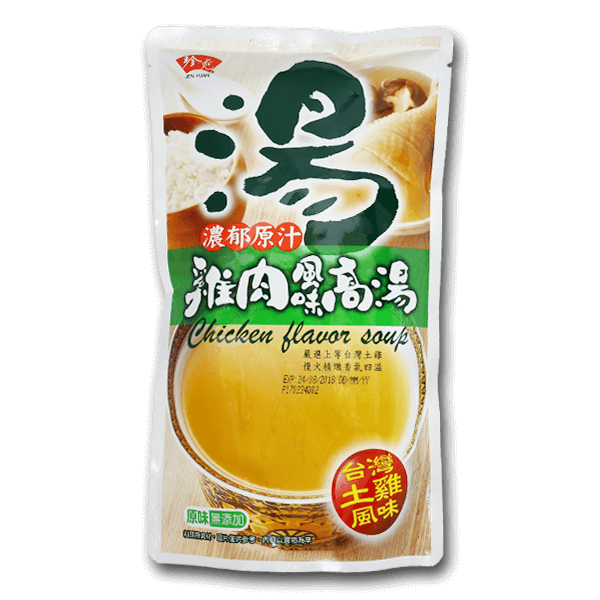 Jenyuan Chicken Flavor Soup(700mL)