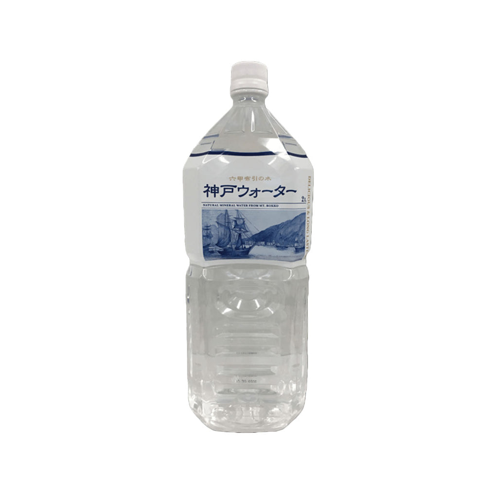 KOBEWATER Natural Mineral Water From Mt. Rokko  (2L)