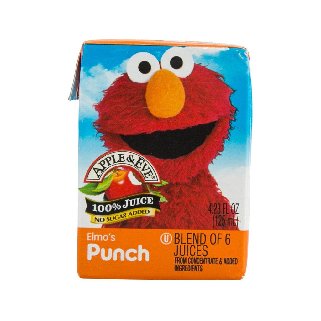 APPLE&EVE Elmo's Fruit Punch  (125mL)