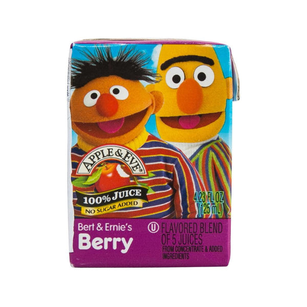 APPLE&EVE Bert & Ernie's Berry Juices  (125mL)
