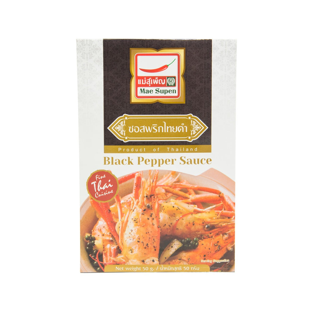 MAE SUPEN Black Pepper Sauce  (50g)