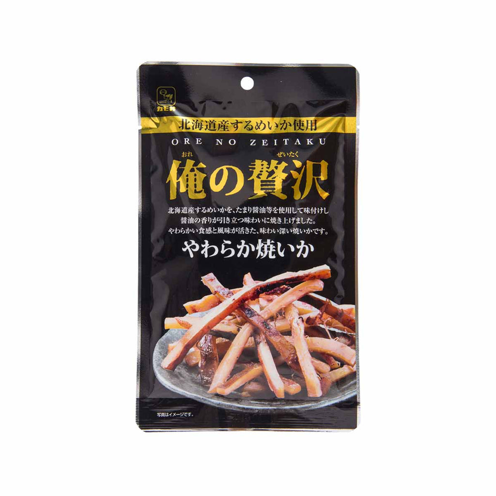 KAMOI Oreno Zeitaku Soft Roasted Squid  (34g)