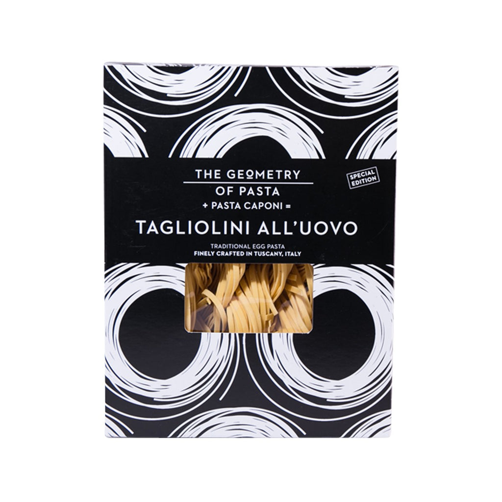 GEOMETRY OF PASTA Traditional Egg Pasta - Tagliolini  (250g)