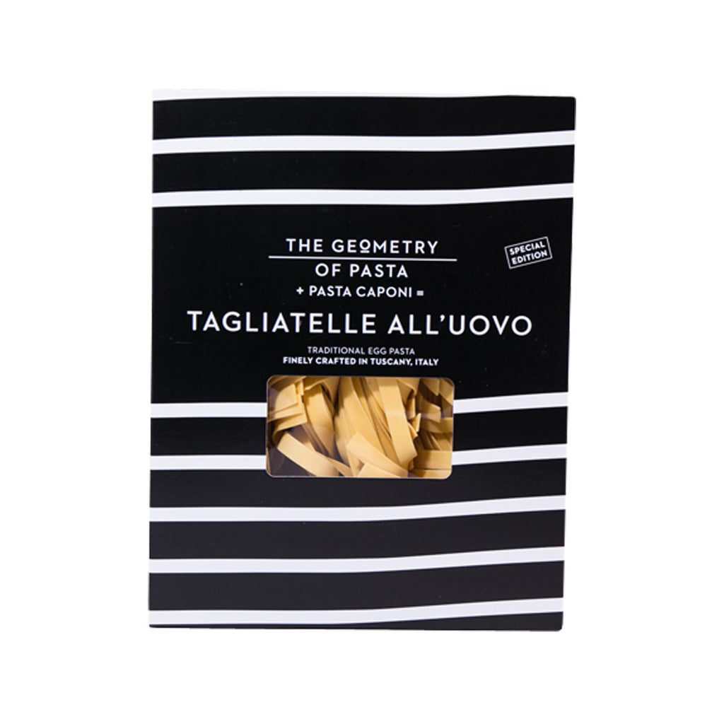 GEOMETRY OF PASTA Traditional Egg Pasta - Tagliatelle  (250g)