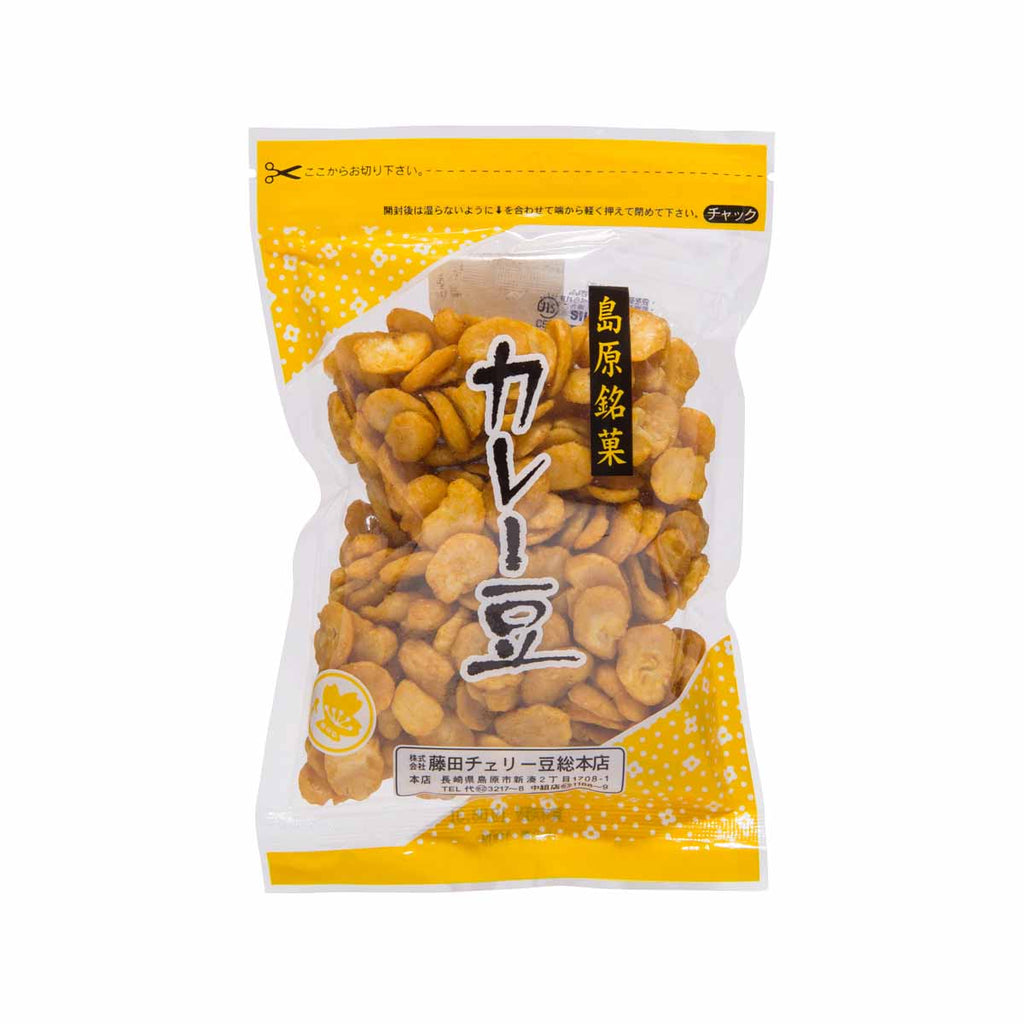 FUJITACHERRY Broad Bean Snack - Curry Flavor  (85g)