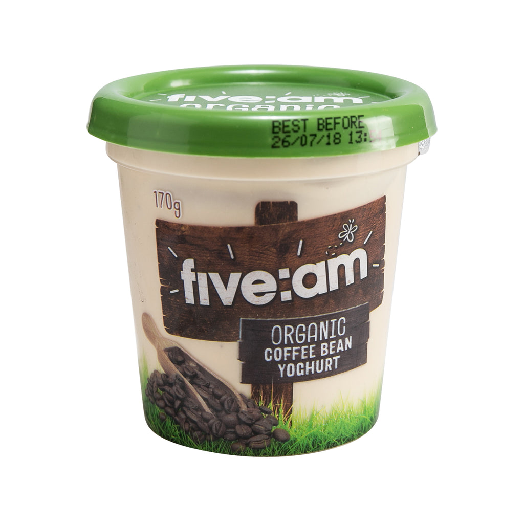 Five:Am Organic Yoghurt - Coffee Bean(170g)