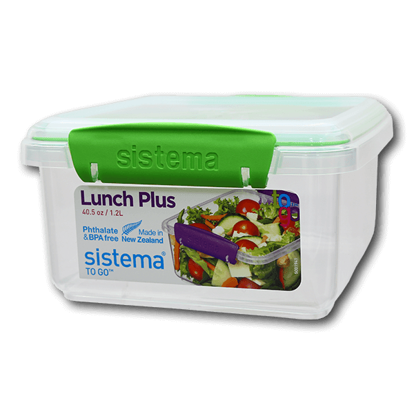 SISTEMA Lunch Plus To Go 1.2L Assorted Color