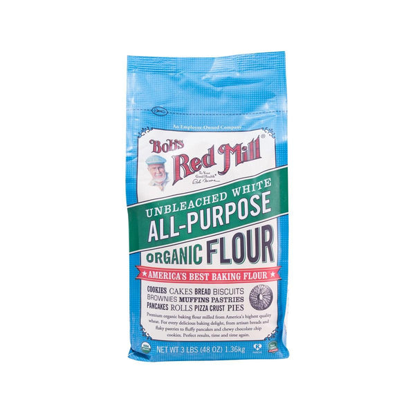 BOB'S RED MILL Unbleached White All-purpose Organic Flour  (1.36kg)