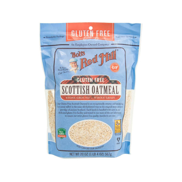 BOB'S RED MILL Gluten Free Scottish Oatmeal  (567g)