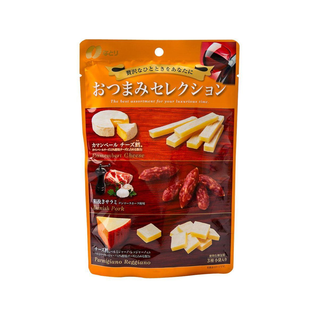 Natori Cheese Snack With Cod And Salami Snack Selection(63g)