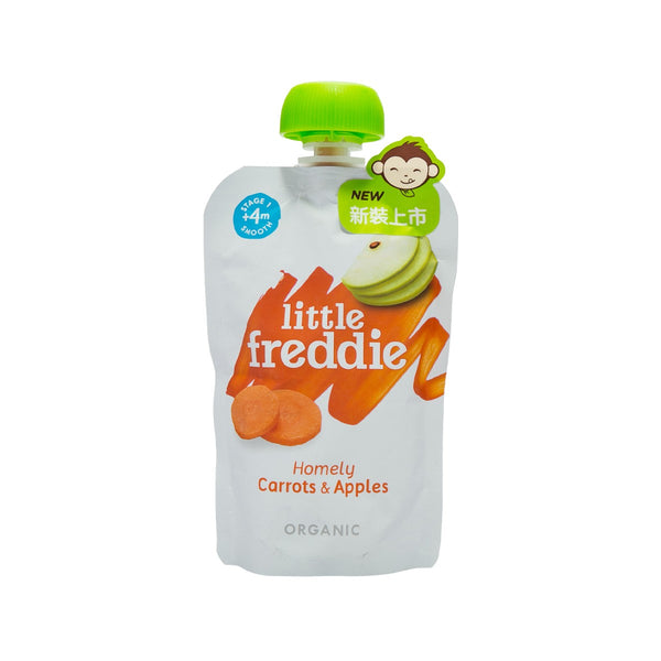 LITTLE FREDDIE Organic Carrot & Apple  (100g)