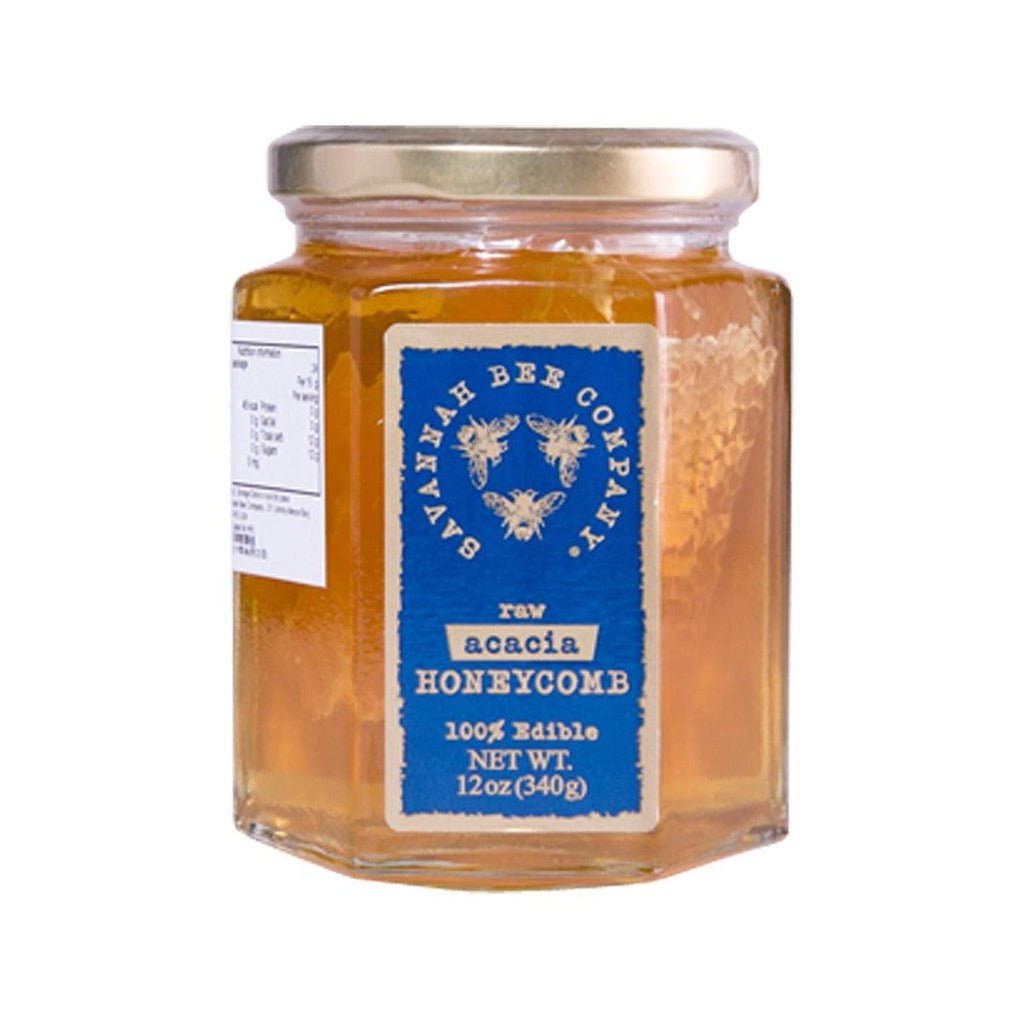 Savannah Bee Raw Acacia Honeycomb Honey(340g)