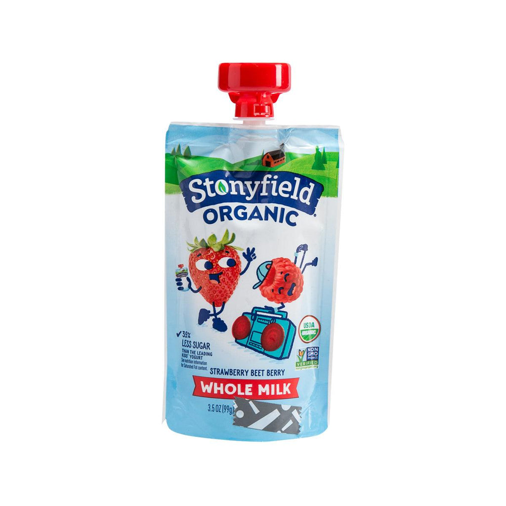 Stonyfield Yotot Organic Whole Milk Yogurt - Strawberry Beet Berry(99g)