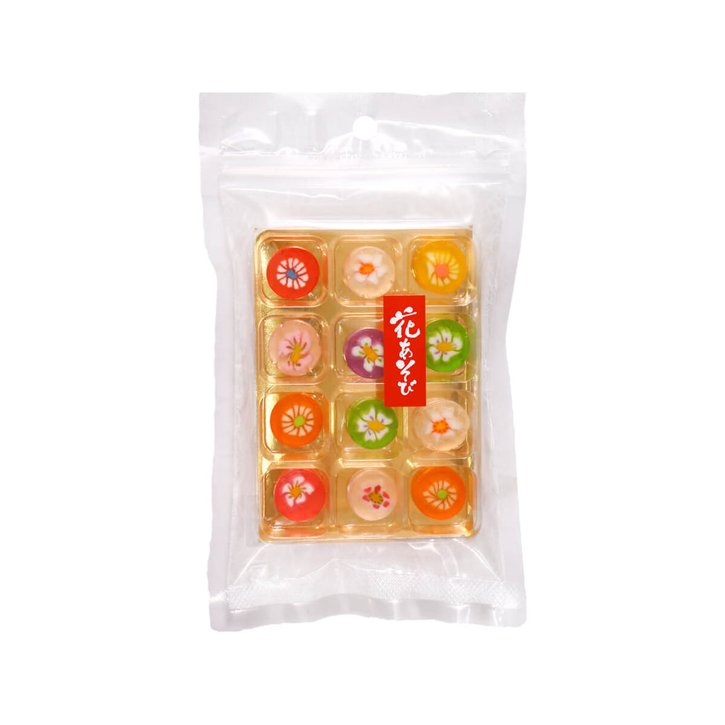 HANANOYA Hanaasobi Flower Pattern Candy  (12pcs)